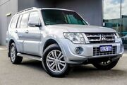 2014 Mitsubishi Pajero NW MY14 VR-X Silver 5 Speed Sports Automatic Wagon Osborne Park Stirling Area Preview