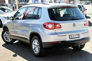 2009 Volkswagen Tiguan 5N MY10 103TDI 4MOTION Silver 6 Speed Sports Automatic Wagon North Gosford Gosford Area Preview
