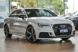 2018 Audi RS 3 8V MY18 S tronic quattro White 7 Speed Sports Automatic Dual Clutch Sedan Osborne Park Stirling Area Preview