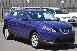 2015 Nissan Qashqai J11 ST Blue 1 Speed Constant Variable Wagon Knoxfield Knox Area Preview