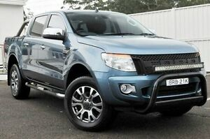 2015 Ford Ranger PX XLT Double Cab Blue 6 Speed Manual Utility Gosford Gosford Area Preview