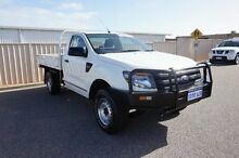 2012 Ford Ranger PX XL White 6 Speed Manual Cab Chassis Pearsall Wanneroo Area Preview