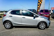 2010 Mazda 2 DE Neo Silver 4 Speed Automatic Hatchback Wangara Wanneroo Area Preview
