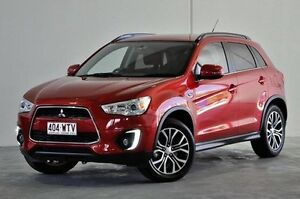 2015 Mitsubishi ASX XB MY15 LS 2WD Red 6 Speed Constant Variable Wagon Robina Gold Coast South Preview