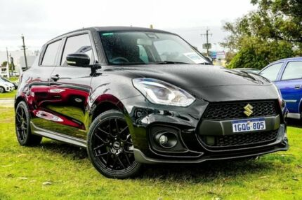 2018 Suzuki Swift MY18 Sport Black 6 Speed Automatic Hatchback Wangara Wanneroo Area Preview