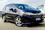 2017 Honda Odyssey RC MY17 VTi Black Continuous Variable Wagon Wangara Wanneroo Area Preview