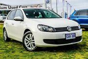 2012 Volkswagen Golf VI MY13 118TSI DSG Comfortline White 7 Speed Sports Automatic Dual Clutch Wangara Wanneroo Area Preview