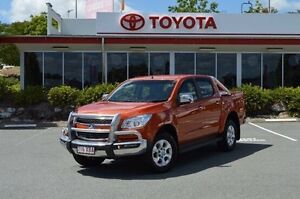 2015 Holden Colorado Orange Sports Automatic Utility Highland Park Gold Coast City Preview