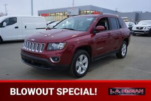 2017 Jeep Compass 4X4 HIGH ALTITUDE
