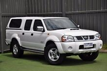 2012 Nissan Navara D22 S5 ST-R White 5 Speed Manual Utility Wantirna South Knox Area Preview