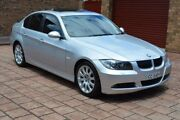 2007 BMW 325I E90 Steptronic Silver 6 Speed Sports Automatic Sedan Stepney Norwood Area Preview