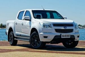 2014 Holden Colorado RG LS White Sports Automatic Utility