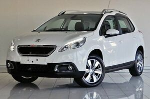 2014 Peugeot 2008 A94 Active White 4 Speed Sports Automatic Wagon Southport Gold Coast City Preview