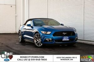 2017 Ford Mustang GT Premium / 6-SPD AUTO / HTD LEATHER / BACK U