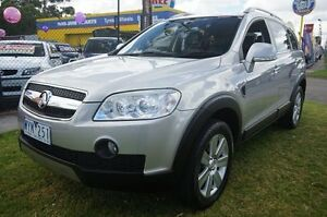 2008 Holden Captiva CG MY09 LX AWD Nitrate Silver 5 Speed Sports Automatic Wagon Dandenong Greater Dandenong Preview