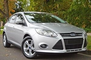 2014 Ford Focus LW MKII Trend PwrShift Silver 6 Speed Sports Automatic Dual Clutch Hatchback Thorngate Prospect Area Preview