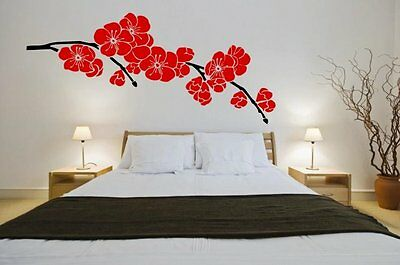 Japanese Cherry Wall Sticker Blossom Giant Floral Decal Deco