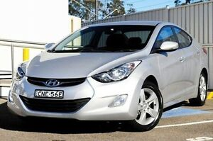 2012 Hyundai Elantra MD Elite Silver 6 Speed Sports Automatic Sedan Gosford Gosford Area Preview