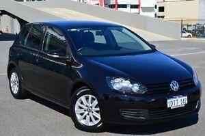2011 Volkswagen Golf 1K MY11 90 TSI Trendline Black 7 Speed Automatic Hatchback Wangara Wanneroo Area Preview