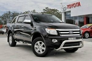 2015 Ford Ranger PX XLT 3.2 (4x4) Black 6 Speed Automatic Dual Cab Utility Wyoming Gosford Area Preview