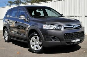 2013 Holden Captiva CG Series II MY12 7 SX Grey 6 Speed Sports Automatic Wagon Gosford Gosford Area Preview