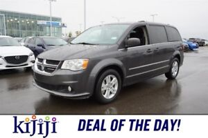 2017 Dodge Grand Caravan CREW STOW AND GO Accident Free,  3rd Ro