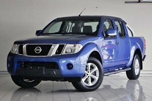 2012 Nissan Navara D40 S6 MY12 ST 4x2 Blue 6 Speed Manual Utility Southport Gold Coast City Preview