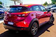 2015 Mazda CX-3 DK2W7A sTouring SKYACTIV-Drive Red 6 Speed Sports Automatic Wagon Osborne Park Stirling Area Preview