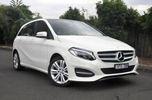 2015 Mercedes-Benz B180  White Sports Automatic Dual Clutch Hatchback Burwood Whitehorse Area Preview