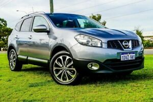 2012 Nissan Dualis J107 Series 3 MY12 +2 Hatch X-tronic 2WD Ti Grey 6 Speed Constant Variable