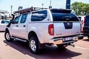 2008 Nissan Navara D40 ST-X Silver 5 Speed Automatic Utility Westminster Stirling Area Preview