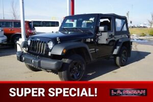 2014 Jeep Wrangler 4X4 SPORT Accident Free,