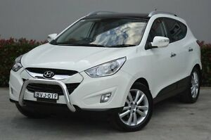 2011 Hyundai ix35 LM MY12 Highlander AWD White 6 Speed Sports Automatic Wagon South Maitland Maitland Area Preview