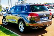 2012 Volkswagen Touareg 7P MY12.5 V6 TDI Tiptronic 4MOTION Grey 8 Speed Sports Automatic Wagon Wangara Wanneroo Area Preview
