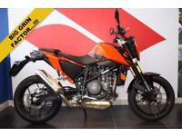 2016 16 KTM DUKE 690 DUKE, ORANGE, LOW MILEAGE DEMO BIKE! POA