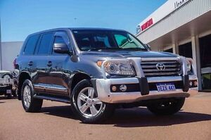 2014 Toyota Landcruiser VDJ200R MY13 Sahara Grey 6 Speed Sports Automatic Wagon Westminster Stirling Area Preview