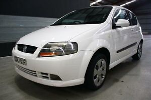 2006 Holden Barina TK White 5 Speed Manual Hatchback Maryville Newcastle Area Preview