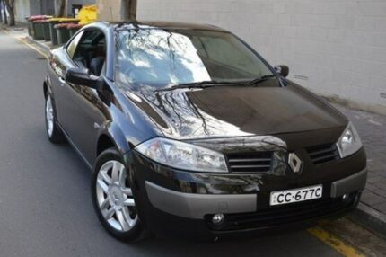 2005 Renault Megane II X84 Dynamique Black 4 Speed Automatic Cabriolet Stepney Norwood Area Preview