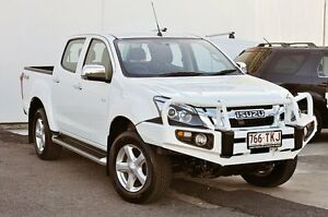 2013 Isuzu D-MAX MY12 LS-U Crew Cab White 5 Speed Sports Automatic Utility Tweed Heads South Tweed Heads Area Preview