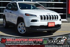 2015 Jeep Cherokee Sport / 4X4 / Cold Weather Group ...