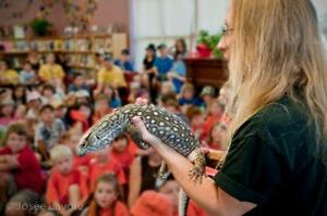 Reptile Rainforest Road Show Kingston Kingston Area image 8