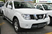 2010 Nissan Navara D40 ST White 6 Speed Manual Utility Ringwood East Maroondah Area Preview