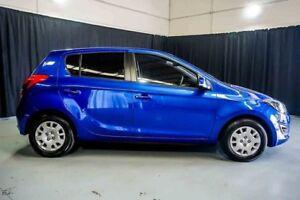 2013 Hyundai i20 PB MY13 Active Blue 4 Speed Automatic Hatchback
