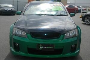 2010 Holden Commodore VE MY10 SV6 Green 6 Speed Manual Utility Shailer Park Logan Area Preview