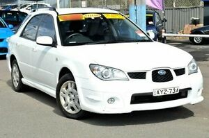 2006 Subaru Impreza S MY06 AWD White 4 Speed Automatic Hatchback North Gosford Gosford Area Preview