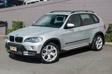2008 BMW X5 E70 MY09 xDrive30d Steptronic Silver 6 Speed Sports Automatic Wagon Main Beach Gold Coast City Preview
