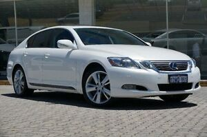 2011 Lexus GS450H GWS191R MY10 Hybrid White 1 Speed Constant Variable Sedan St James Victoria Park Area Preview