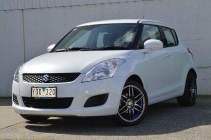2011 Suzuki Swift FZ GL White 5 Speed Manual Hatchback Hallam Casey Area Preview