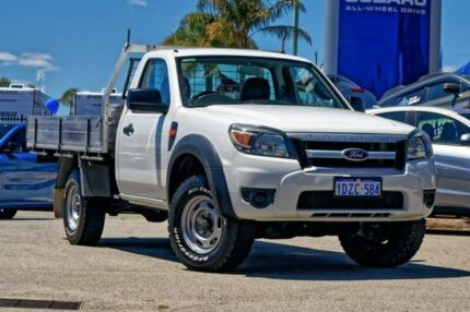 2010 Ford Ranger PK XL White 5 Speed Automatic Cab Chassis Greenfields Mandurah Area Preview