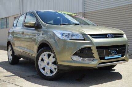 2014 Ford Kuga TF Ambiente AWD Gold 6 Speed Sports Automatic Wagon